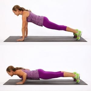 Basic Push-Up Demonstration