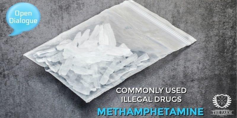 Commonly Used Illegal Drugs - Methamphetamine