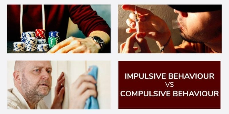 Impulsive Behaviour vs Compulsive Behaviour